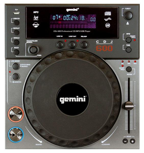 Table-Top Gemini CDJ-600