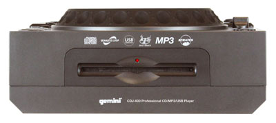 Slot beim Gemini CDJ-600 Table-Top CD / MP3 / USB Player für DJs