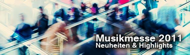 Musikmesse Frankfurt 2011 vom 6. bis 9.April Musik Messe 2011